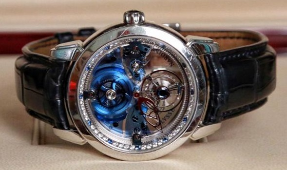 Ulysse Nardin Classic Royal Blue Tourbillon
