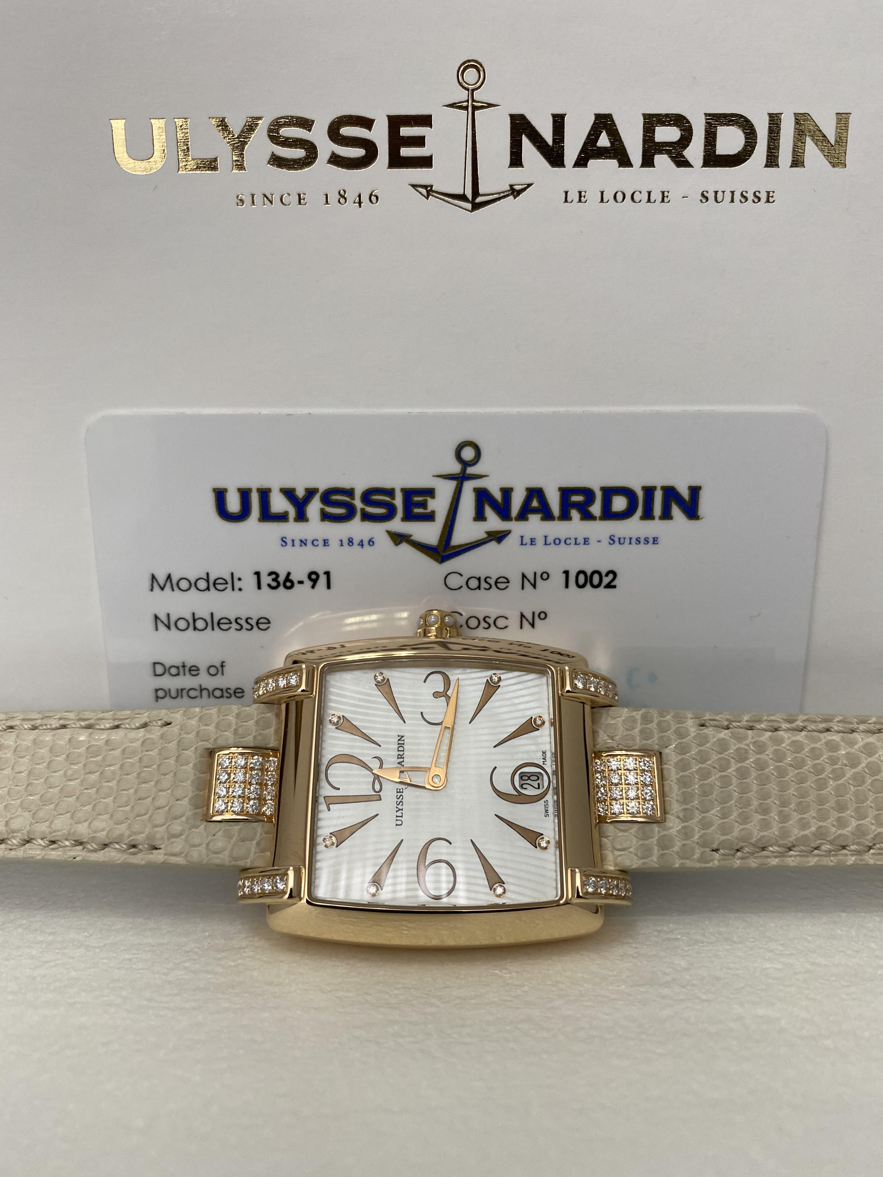 Ulysse Nardin Classic Caprice Ladies 136-91C/691