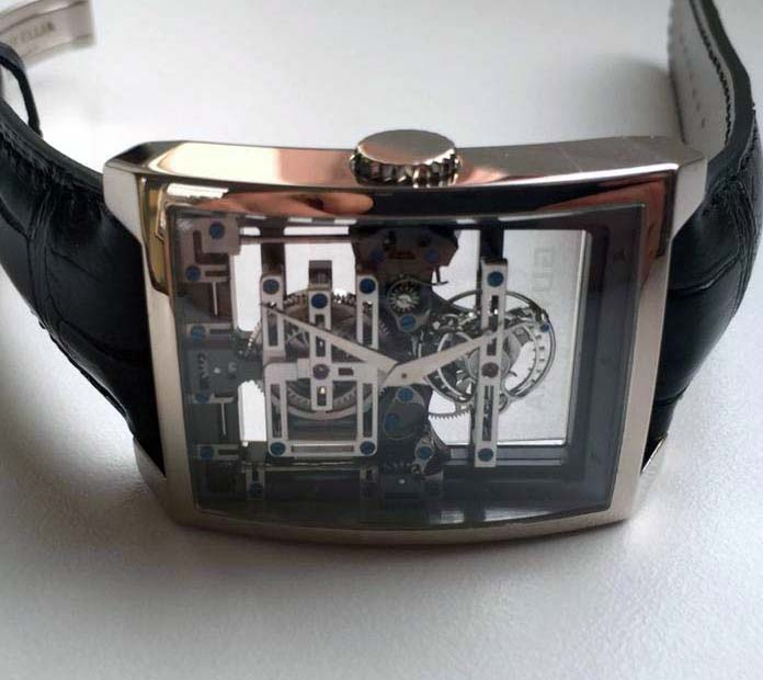 "TIME SQUARE ""CONVEX TOURBILLON MAGISTERE"" Limited"