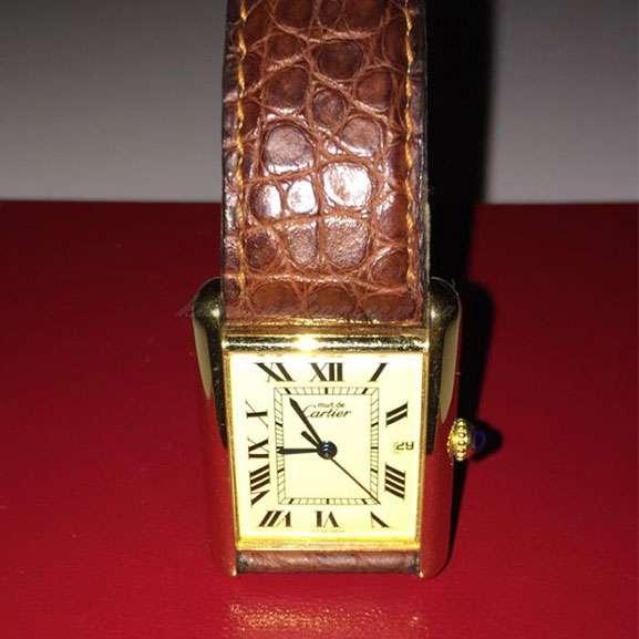 Cartier Must de Cartier Galbee Vermeil Tank