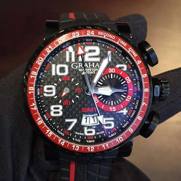 Graham Silverstone Stowe GMT Red
