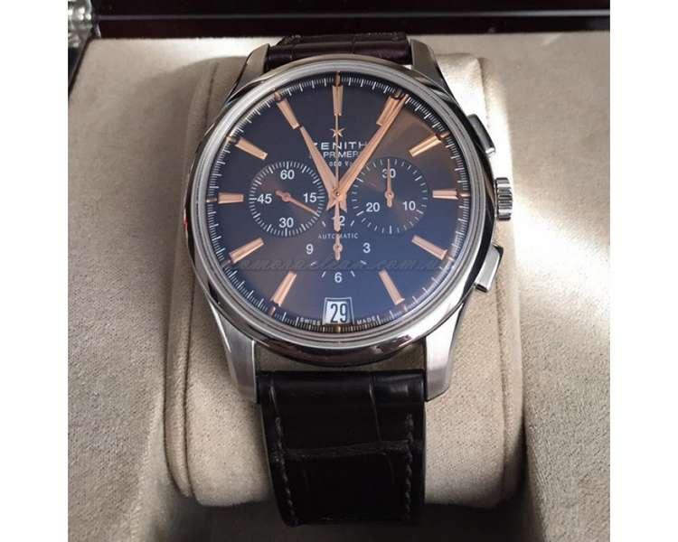 Zenith chronograph 03.2110.400/75.c498