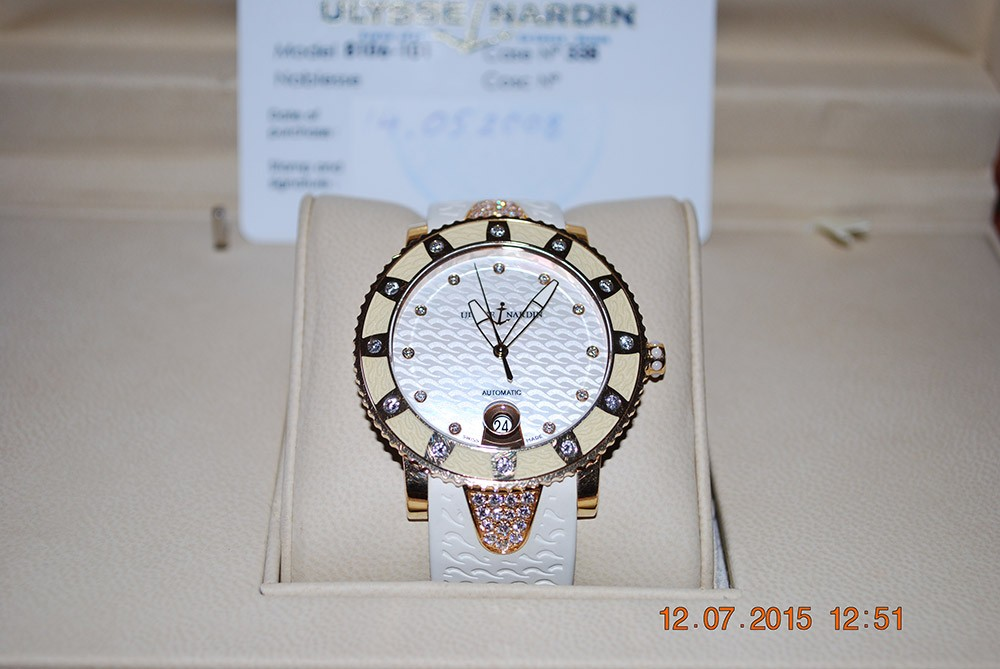 Ulysse Nardin Marine Collection Lady Diver 8106-101