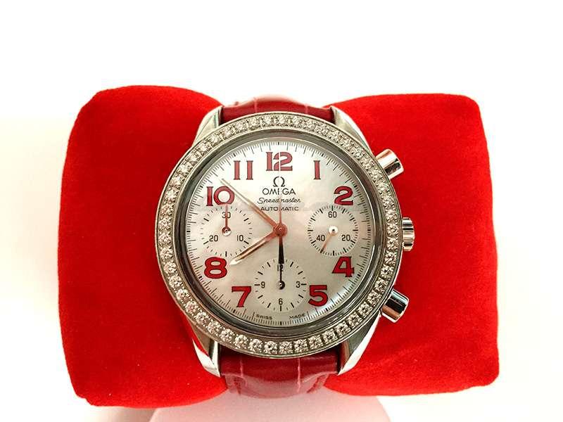 Omega Speedmaster Automatic Chronograph (diamond basel)