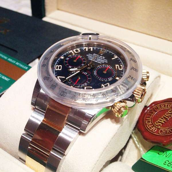 Rolex 116523 bla Daytona Cosmograph