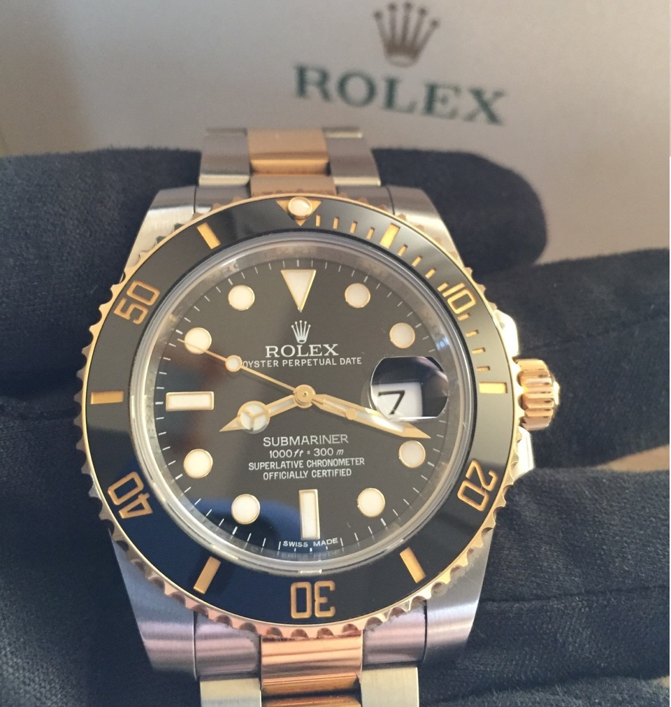 Rolex Submariner ref 116613LN